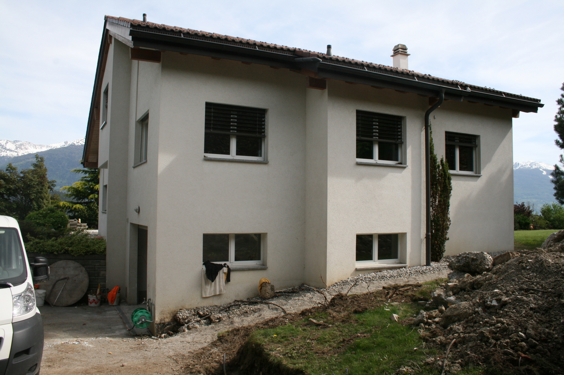 Transformation Villa Ayent